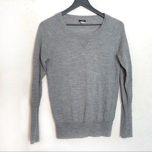 JCrew beaded boyfriend sweater